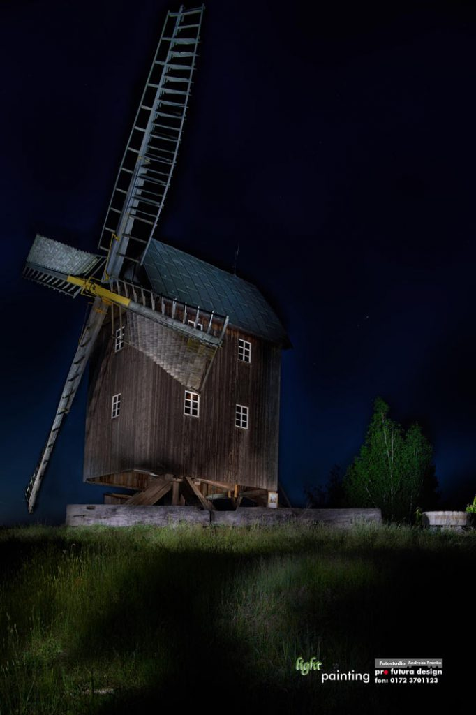 mühle-light-painting-chemnitzer-umland